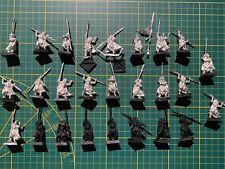 Warhammer Wood Elves Waldelfen 26 Eternal Guard Ewige Wache Metal Rare Used OOP