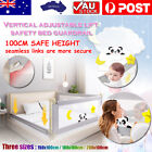 100CM Height Bed Rail/BedRail Adjustable Folding Kids Safety Cot Guard Protecte  <br/> Determine the size of the bed frame at purchase