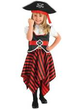 Pirate Girl & Hat Fancy Dress Book Week Child Kids Party Halloween Costume