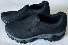Merrell Men's Moab Adventure Moc Hiking Shoe, Black, Size 8 US