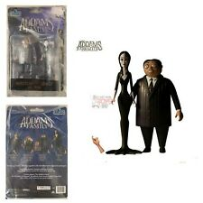 MORTICIA & GOMEZ & THING Mezco Toyz 2019 THE ADAMS FAMILY 2 PACK Figures