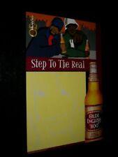 Original 2000 Olde English 800 Malt Liquor Rare Vintage Advertising Poster
