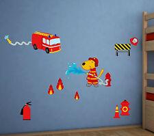 polizei/feuerwehr-dekorationen mit | ebay - Kinderzimmer Deko Feuerwehr