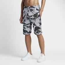 $60 NEW Men's Nike Sportswear Double Mesh Shorts Anthracite 834137 060 Large