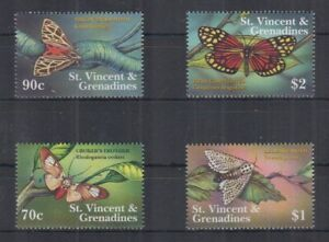 L466. St Vicnent - MNH - Insects - Butterflies
