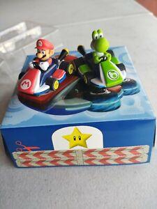 Set of 2 Carrera Super Mario Kart - Yoshi Slot Cars 1:43 - Replacement Cars
