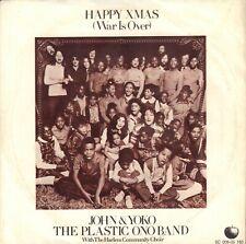 "JOHN LENNON – Happy Xmas (War Is Over) (1971 APPLE VINYL SINGLE 7"" HOLLAND)"