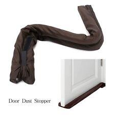 Wind Dust Blocker Sealer Stopper Insulator Door Window Home Decor Brown
