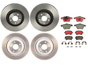 Brembo Front Rear Full Brake Kit Disc Rotors Ceramic Pads For Audi A6 Quattro