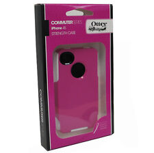 OtterBox OEM Commuter Case VZ iPhone 4 4G Pink/White NEW Genuine Screen Protecto