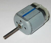 Mabuchi 12V FC-280 DC Motor - 10000 RPM - Long 21mm Shaft - Push-in Terminals