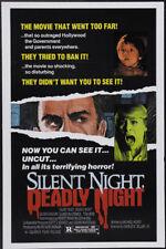 Silent night deadly night Horror movie poster #2