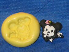 Vintage Mouse Silicone  Mold Cupcake #533 Cake Chocolate Resin Clay Wax