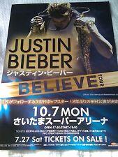 JUSTIN BIEBER / 2013 JAPAN TOUR flyer