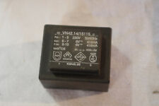 Transformateur Transfo moulé CI PCB - 5VA Primaire 230V secondaire 2x6V