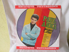 Picture Disk Vinyl Paul Anka Greatest Hits