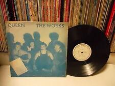 QUEEN - The Works KOREA LP Blue CVR