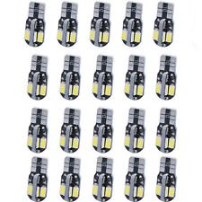 20 x Canbus T10 194 168 W5W 5730 8 LED SMD White Car Side Wedge Light Bulb Sale
