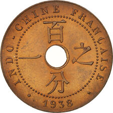 Monnaies, FRENCH INDO-CHINA, Cent, 1938, Paris, SUP+, Bronze, KM:12.1 #406732