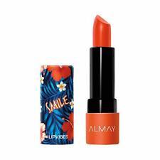 Almay Lip Vibes Matte, 160 Smile, 0.14 oz, matte lipstick - Free Ship