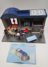 Playmobil Comisaría / Maletín Policía 5299 Completo + 11 muñecos y accesorios