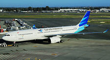 JFOX JFA330014 1/200 GARUDA INDONESIA AIRBUS A330-341 PK-GPE WITH STAND