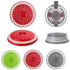 Cloche Micro-ondes Rétractable 26,5 cm Couleurs aux choix Rouge Gris Vert