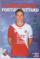 Programma / Programme FC Utrecht v Fortuna Sittard 24-04-2019
