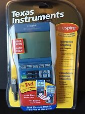 Texas Instruments 2 in 1 Calculator TI-Nspire & TI-84 Plus Interactive Graphing
