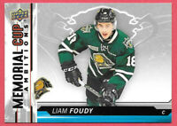 2018-19 Liam Foudy Upper Deck CHL Rookie Memorial Cup - Columbus Blue Jackets