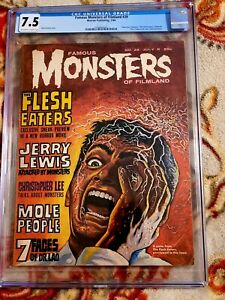 FAMOUS MONSTERS  OF FILMLAND ISSUE 29** CGC 7.5!!** *FREE SHIPPING**!