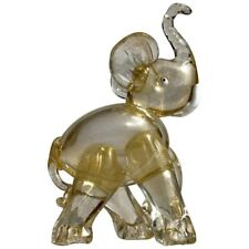 1930s by Ercole Barovier Gold Glass Murano Animal Elephant