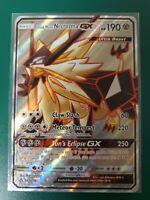 Pokemon Karte Abendmähne Necrozma GX 90//156 HoloDE NM