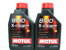 1 litro 1ltr. Motul 8100 X-limpie aceite para motores 5w-30 Longlife III BMW MB