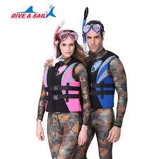 Men Women Swim Kayak Lifesaving Vest Buoyancy Aid Sailing Kayak Life Jacket