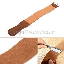 Razor Sharpener Strap Genuine Leather Straight Strop Professional Barber Shaving