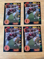 1991 COLLEGE WILD CARDS..COREY MILLER #9..(1 LOT, 4 CARDS)..FREE SHIPPING