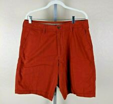TOMMY BAHAMA RELAX ORANGE COTTON LYCRA CASUAL SHORTS MENS SIZE 33