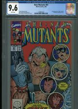 New Mutants #87  (First Cable)  CGC 9.6  White Pages