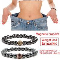 Hématite magnétique perles en pierre bracelet thérapie soins de santé I