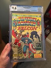 Captain America #171 CGC 9.6 White Pages! Falcon Gets Wings!  Black Panther!