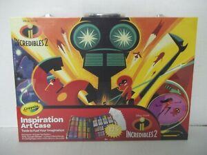 Disney Incredibles 2 Crayola Inspiration Art Case
