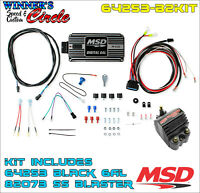 MSD 64253-B2KIT MSD 6Al Ignition Kit Black - Includes Box and Coil