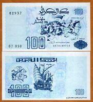 Algeria, 100 Dinars 1992, P-137, UNC > Battle