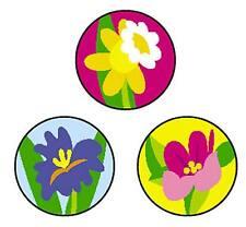 800 Spring Flowers SuperSpots reward chart stickers