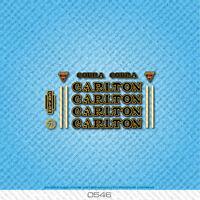 Carlton Frame /& Fork Decals sku Carl802