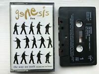 Genesis Live - The Way We Walk Volume One The Shorts - Cassette Album Tape