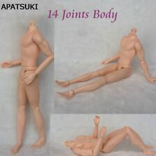 30cm 14 Moveable Jointed Doll Body For Ken Boy Doll Male MAN Nude Doll DIY Toys