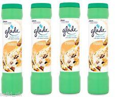 4x Glade Shake n' Vac Carpet Freshener Fragrance Powder 500g  Magnolia & Vanilla