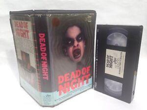 PRE CERT DEAD OF NIGHT PMA HORROR VIDEO VHS PAL BIG BOX EX RENTAL